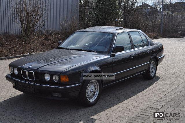 1992 BMW  730i A + + + + + seamless service log + + + + + Limousine Used vehicle photo