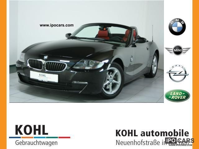 2008 BMW  Z4 2.5i A leather Xenon PDC Blueth. Sitzh Cabrio / roadster Used vehicle photo