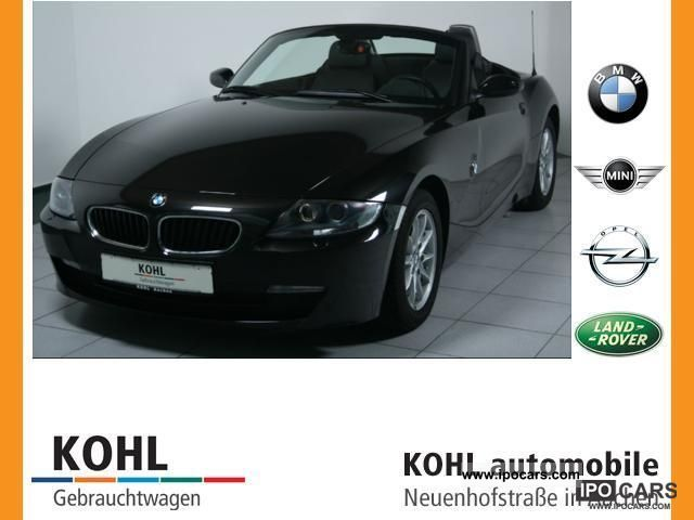 2008 BMW  Z4 2.5i Convertible Leather Xenon PDC Klimaautom hi. Cabrio / roadster Used vehicle photo