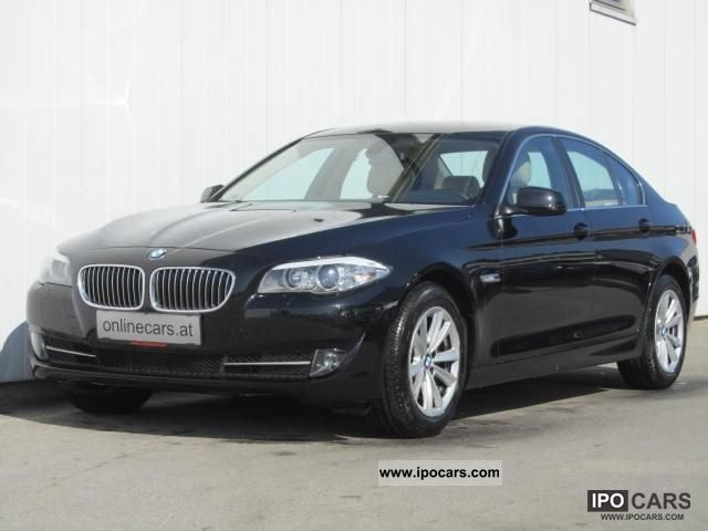 2011 BMW  525d passim package LEATHER SEAT HEATING ALU NET 28 990, Limousine Used vehicle photo