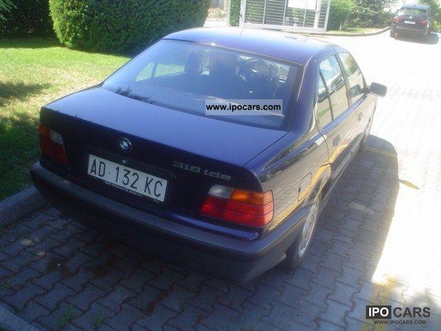 1995 Bmw 318 Tds Turbodiesel Cat 4 Porte  1994  09u003e