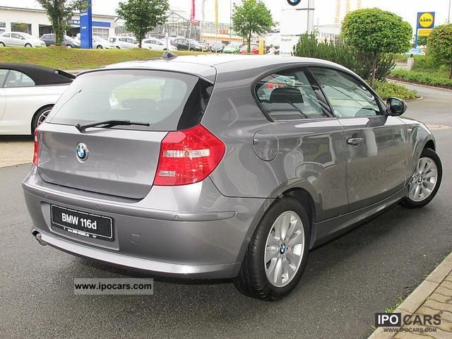 2012 BMW  116 d climate control heated seats alloy wheels PDC Limousine Demonstration Vehicle photo