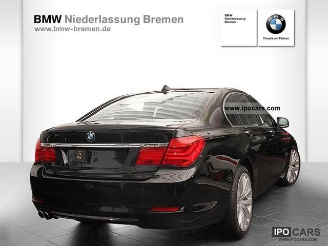 2009 BMW  730d Sedan - Rear Seat Entertainment comfort seat Limousine Used vehicle photo