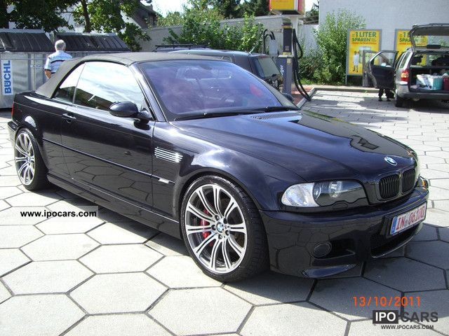 2004 Bmw M3 Smg Ii Convertible Hardtop Facelift16 9navi19zoll Car Photo And Specs