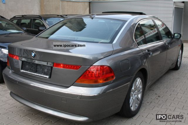 2003 Bmw 745li Absoulute Vollausstattung Car Photo And Specs