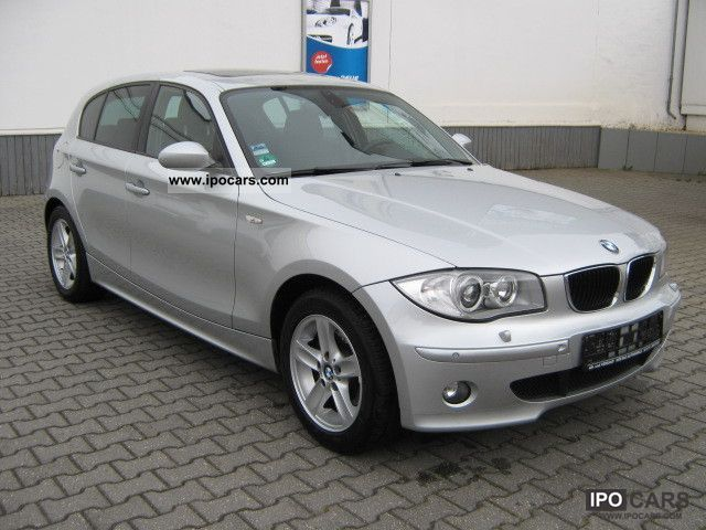 2006 bmw 120i 1 hand erst 90tkm l ckenlosscheckheft car photo and specs. Black Bedroom Furniture Sets. Home Design Ideas
