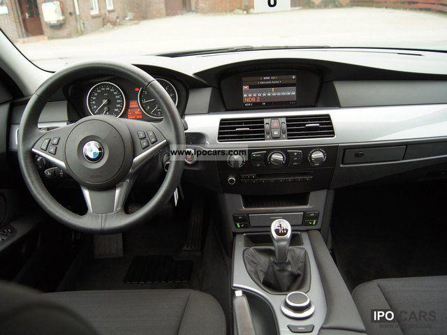 2007 BMW 520i Facelift Model 18 Inch Aluminum Cruise Limousine Used Vehicle