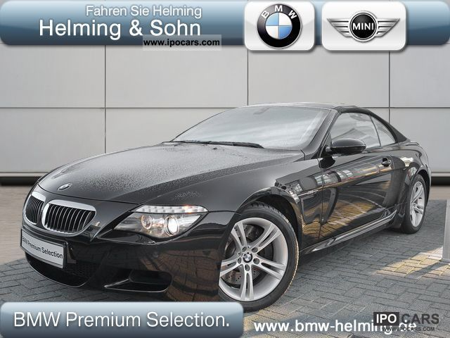 2008 BMW  M6 convertible (Head Up Display Leather Navi Xenon) Cabrio / roadster Used vehicle photo