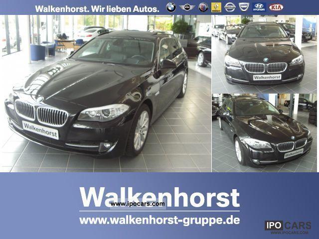 2012 BMW  525d Touring Navi Prof / HUD / leather / Panorama Estate Car Demonstration Vehicle photo