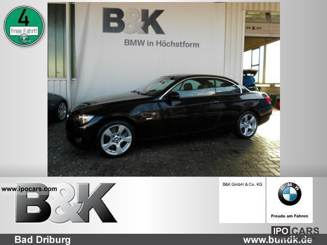 2008 BMW  Navi Xenon PDC Convertible 325dA Bluetooth Sitzhzg Cabrio / roadster Used vehicle photo