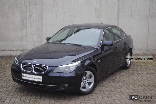 2008 Bmw 525i Aut Lim Lm Wheels Naviprof Glass Roof Pdc