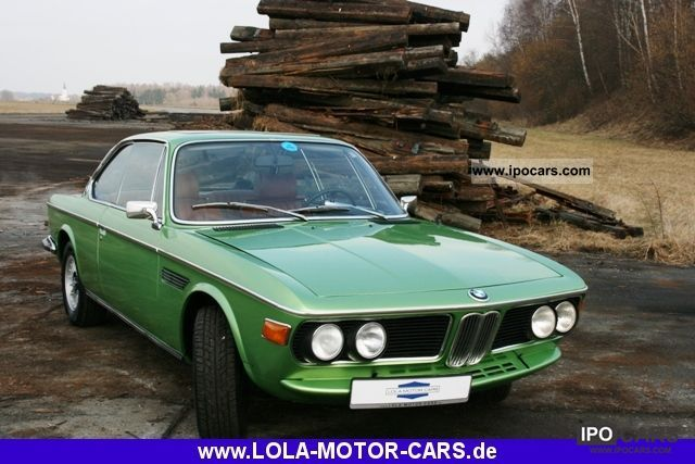 BMW  3.0 CSi (E9) Very nice color combination! 1973 Vintage, Classic and Old Cars photo