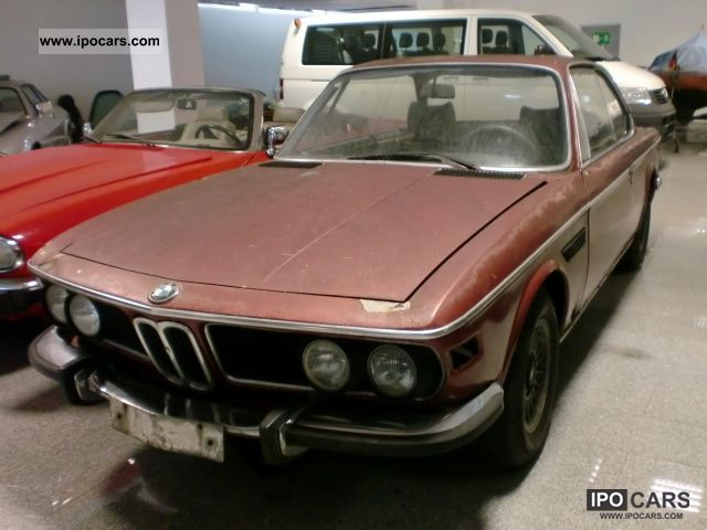 BMW  3.0 CSI E9 \ 1973 Vintage, Classic and Old Cars photo
