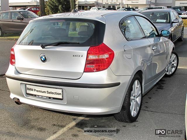 2008 BMW  118 i 3-door xenon Klimaaut., V-Sp.141, etc Limousine Used vehicle photo