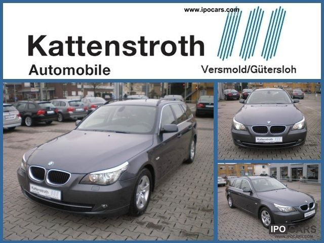 2008 BMW  520dA Touring Navi Bluetooth CD Changer Climate Estate Car Used vehicle photo