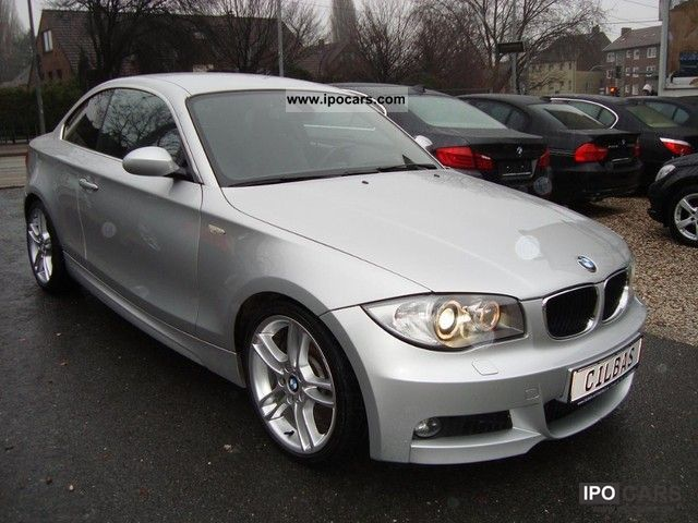 2007 bmw 123d coupe m performance package bi xenon 1 hand car photo and specs. Black Bedroom Furniture Sets. Home Design Ideas