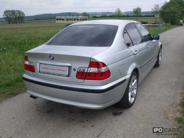 2004 bmw 320i specs