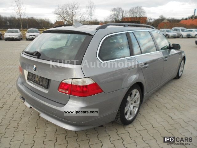 2004 bmw 535d touring g navi leder xenon euro 4 1hand dvd car photo and specs. Black Bedroom Furniture Sets. Home Design Ideas