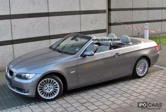 2010 bmw 320i convertible aut leather xenon navi volaustatung car photo and specs. Black Bedroom Furniture Sets. Home Design Ideas