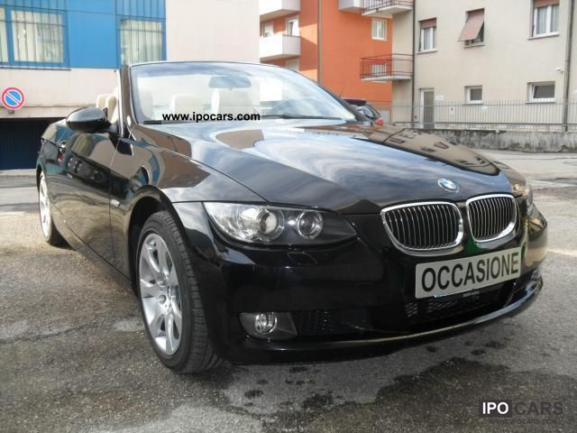 2007 BMW  Series 3 Convertible Convertible 330d cat Futura Prezzo tra Cabrio / roadster Used vehicle photo
