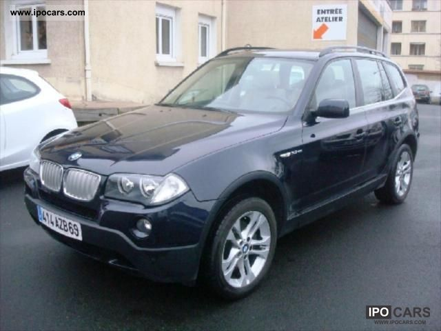 2007 bmw x3 3 0 sd 286ch luxe steptronic car photo and specs. Black Bedroom Furniture Sets. Home Design Ideas