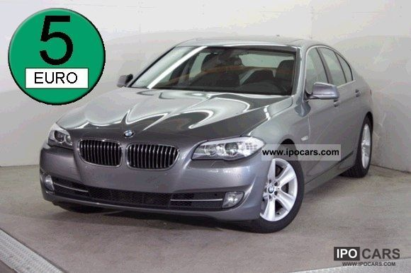 2010 BMW  525d Saloon Standhzg / Navi Prof / no car Limousine Used vehicle photo