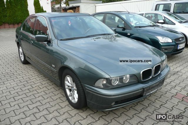 2003 BMW  525d Exclusive leather, SD, Navi, PDC, etc. Limousine Used vehicle photo