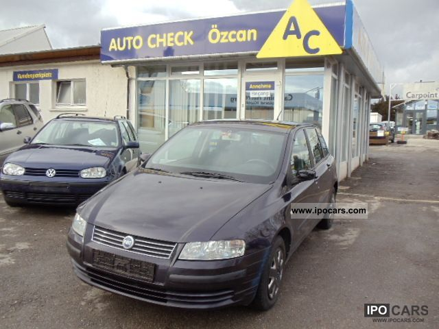 2002 Fiat  Stilo 1.9 JTD, climate Limousine Used vehicle photo
