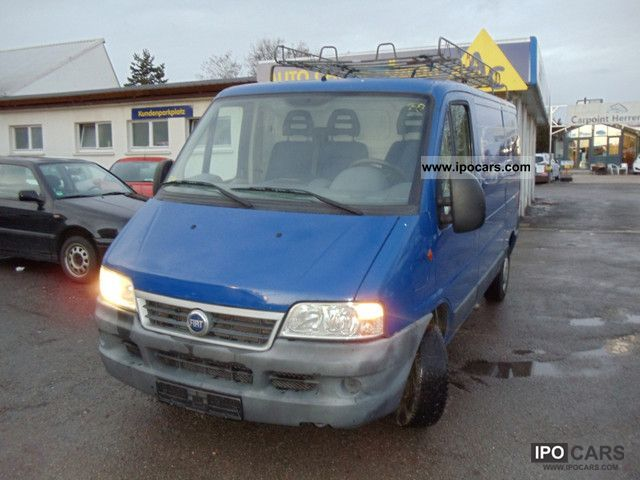 2002 Fiat  Ducato 2.8L JTD Van / Minibus Used vehicle photo