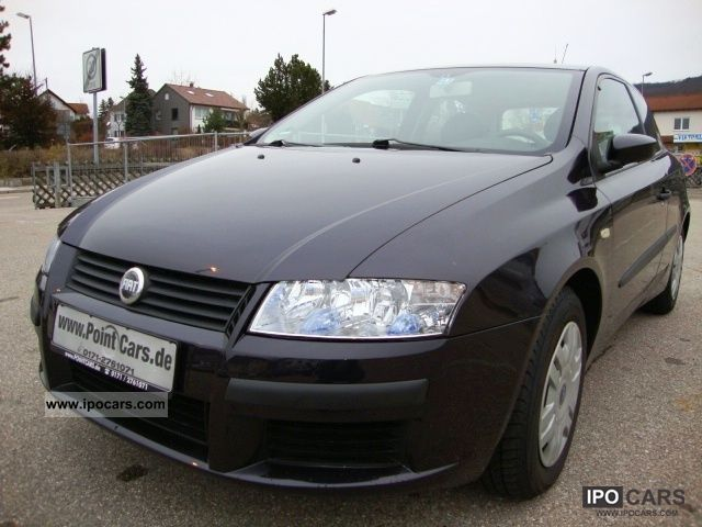 2002 Fiat  Stilo 1.2i 16V Active * AIR-2.Hand-6 GANG EURO 4 Limousine Used vehicle photo