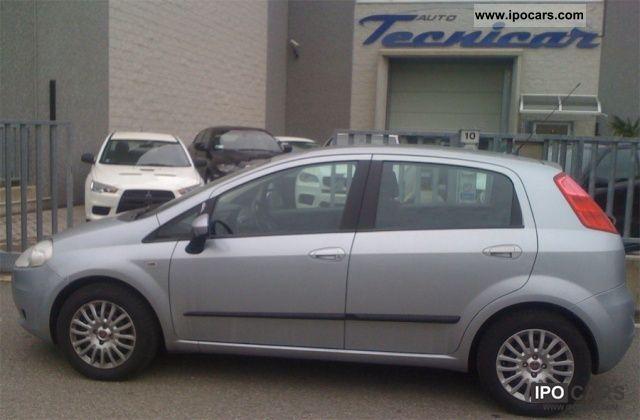 2008 Fiat  Grande Punto 1.3 MJT 5p. Dynamic Limousine Used vehicle photo