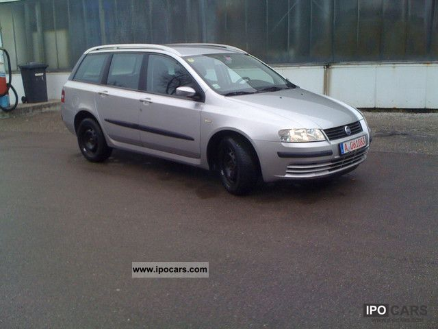 2003 fiat stilo multi wagon 1 9 jtd 115 dynamic klimaautom car photo and specs. Black Bedroom Furniture Sets. Home Design Ideas