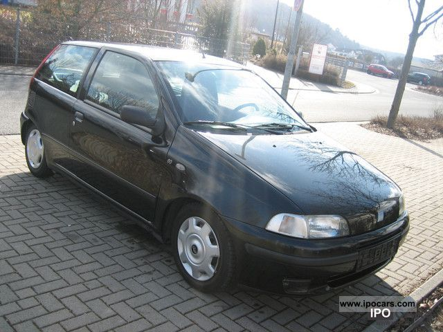 1998 fiat punto 60 sx selecta climate 91 000 km car photo and specs. Black Bedroom Furniture Sets. Home Design Ideas