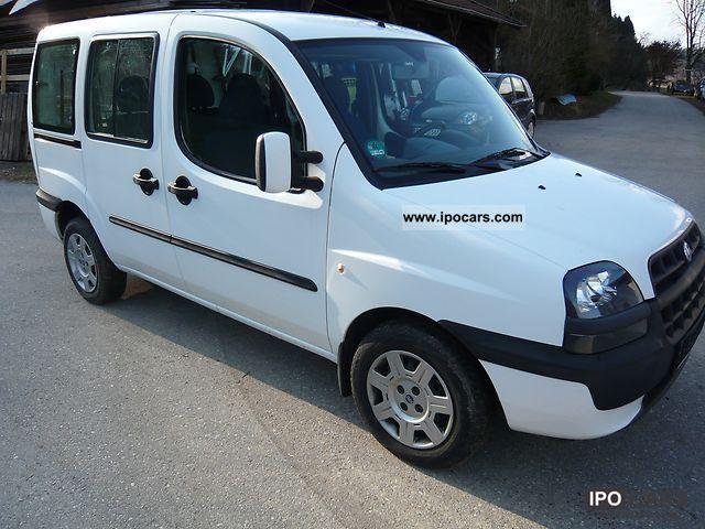 2004 Fiat  Doblo 1.6 16V Van / Minibus Used vehicle photo