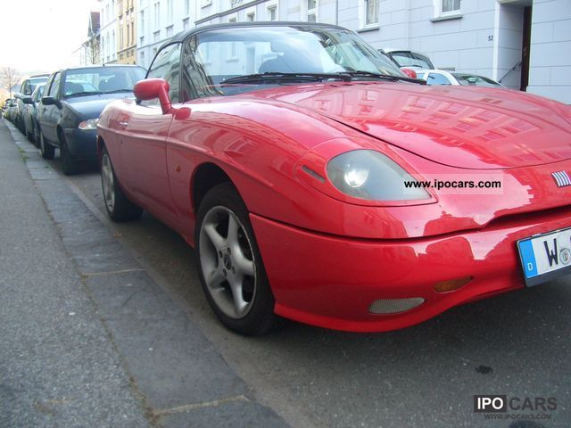 1997 fiat barchetta 1 8 16v car photo and specs. Black Bedroom Furniture Sets. Home Design Ideas