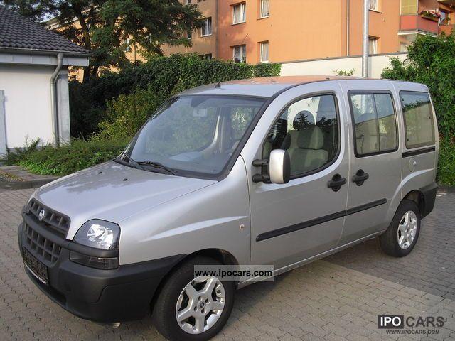 2005 Fiat  Doblo 1.6 16V AIR \u003c\u003c \u003c\u003c \u003c\u003c ALU 2.Hand! Van / Minibus Used vehicle photo