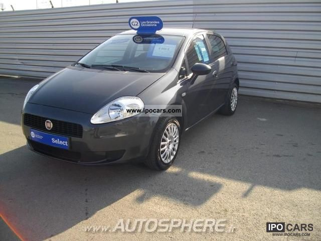 2009 Fiat  Grande Punto 1.3 JTD75 Mjt Cult 5p Limousine Used vehicle photo