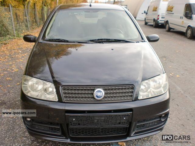 2003 Fiat  Punto 1.4 16v Sporting * AIR * NAVI * 4 * EURO Small Car Used vehicle photo