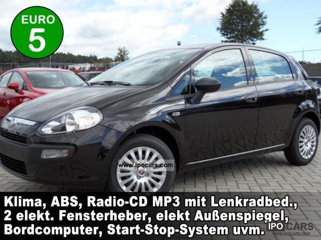2011 Fiat  Punto 1.4 Active 5-door air-radio-CD ... Small Car Pre-Registration photo
