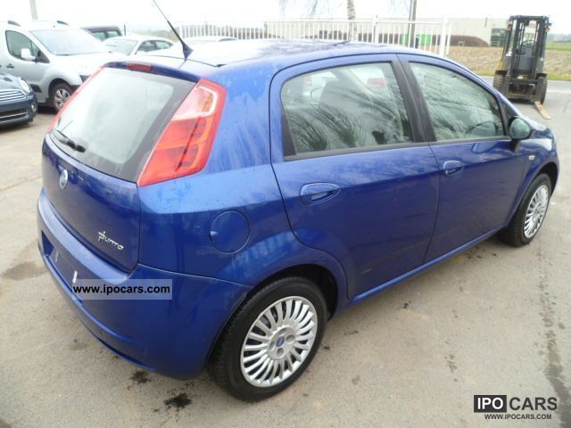 2006 fiat punto 1 3 jtd 75 pk car photo and specs. Black Bedroom Furniture Sets. Home Design Ideas