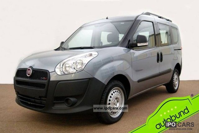 2011 Fiat  Doblo 1.6 Multijet 16V FAP 105hp air Van / Minibus Used vehicle photo
