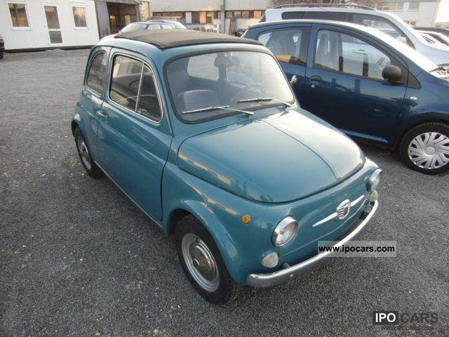 Fiat  500 classic cars * H * mark * folding roof 1965 Vintage, Classic and Old Cars photo