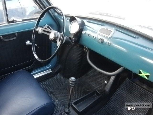 1965 Fiat 500 Classic Cars H Mark Folding Roof Car