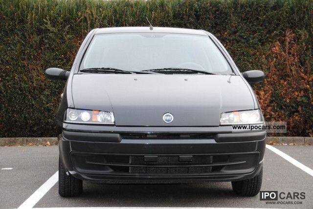 2003 Fiat  Punto 1.2 8V - CLIMATE - SERVO - BLACK - 5 TRG! Small Car Used vehicle photo