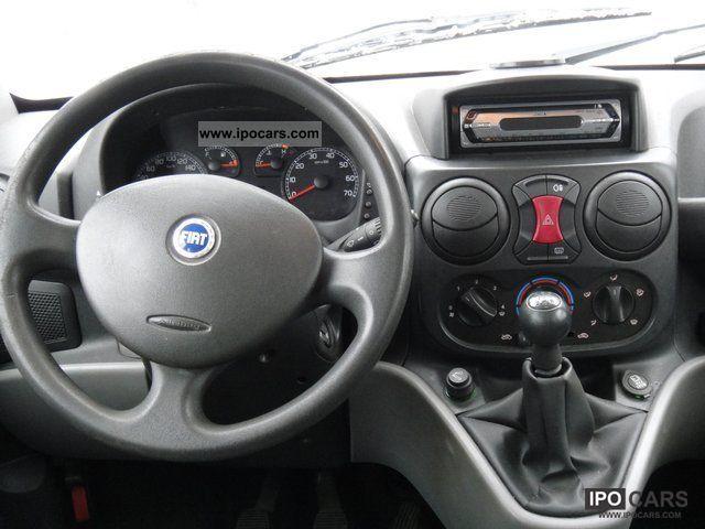 2006 Fiat Doblo 1 9 Jtd Sx 5 Seat Panoramic Car Photo
