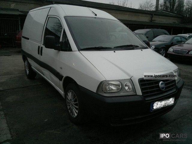 2005 Fiat  Scudo diesel truck box 2005 Van / Minibus Used vehicle photo