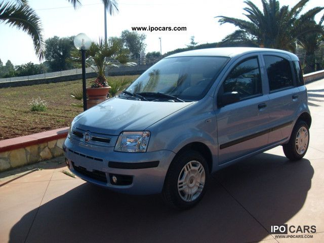 Fiat  Natural Power Panda 1.2 Dynamic. Mamy 2009 Compressed Natural Gas Cars (CNG, methane, CH4) photo