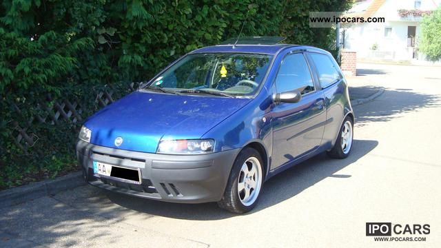 2000 Fiat Punto 1 2 Sx Car Photo And Specs