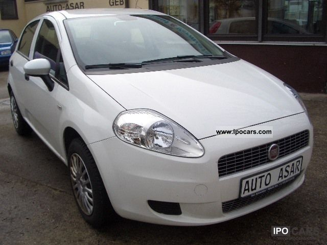 2009 Fiat  Grande Punto 1.4 8V Active Small Car Used vehicle photo