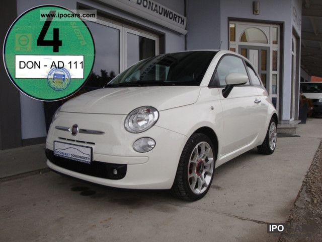 2008 fiat 500 1 4 16v sport pdc automatic air conditioning. Black Bedroom Furniture Sets. Home Design Ideas
